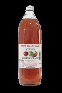 Pur jus de pomme fraise 1L